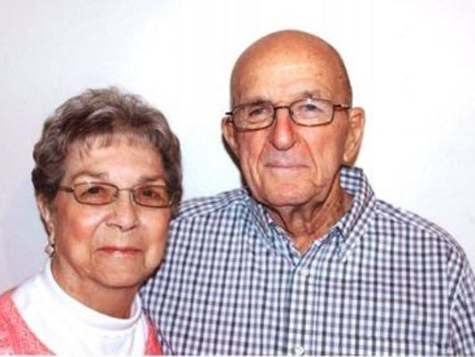 Anniversaries: Gladys Mead & Jim Mead