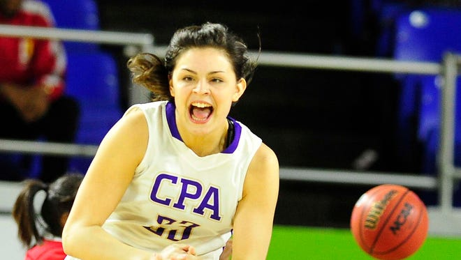 CPA's Savannah LeGate became the program's all-time leading scorer on Thursday.