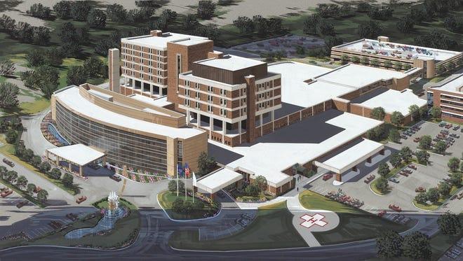 Crittenton Hospital Medical Center in Rochester Hills,