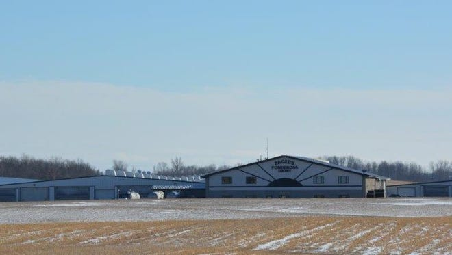 A meeting that included representatives of 14 CAFOs, the DNR, EPA and lobbying group Dairy Business Association was held without notice March 31 at Pagel's Ponderosa.