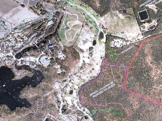 ASB 0422 solar farm hike