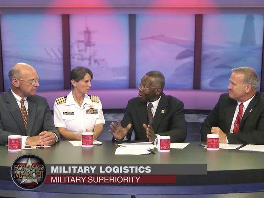 FORWARD MARCH! Gen Thiessen_Capt Eeb_Gen Gilley_Col Landfair