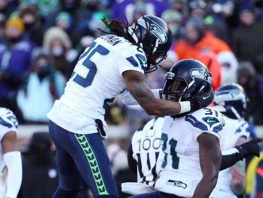 USP NFL: NFC WILD CARD-SEATTLE SEAHAWKS AT MINNESO S FBN USA MN