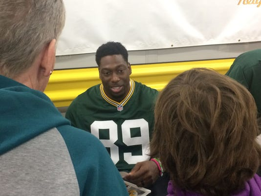 Jared Cook, Green Bay Packers, Touchdowns for Charity