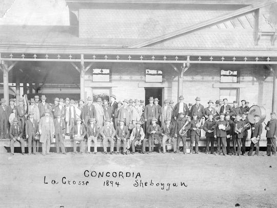 This image was taken at a Gesangverein in 1894 in La