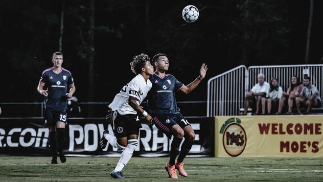 Fort Lauderdale CF edged host South Georgia Tormenta FC 2-1 on Saturday night at Erk Russell Park in Statesboro.