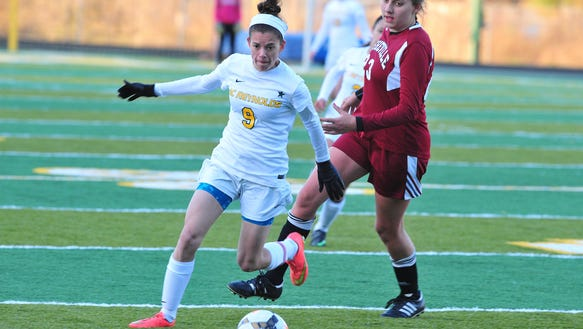 Reynolds senior Ellie Montes (9) has committed to play