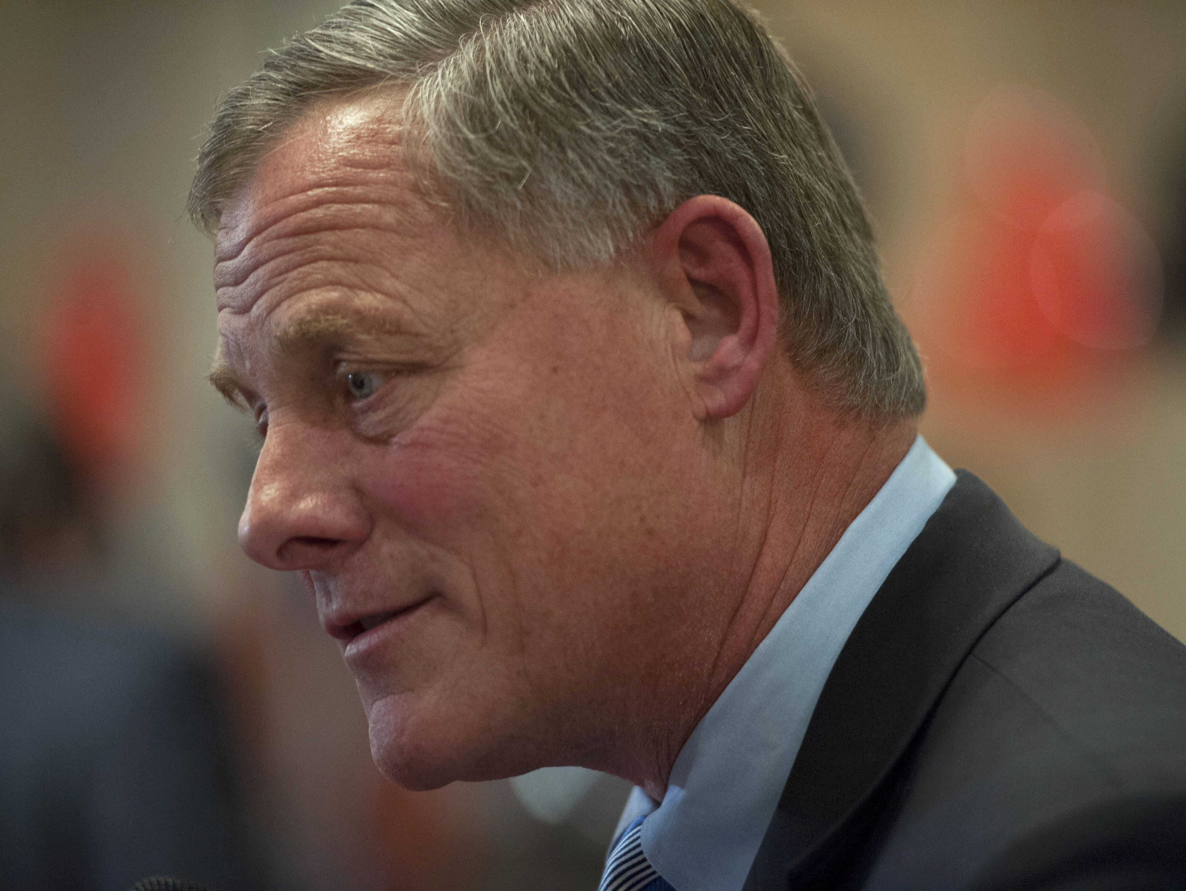 Sen. Richard Burr, R-N.C., is chairman of the Senate intelligence committee and a lead sponsor of the Cybersecurity Information Sharing Act.
