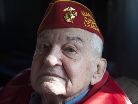 Westmont resident John Lauriello, an Iwo Jima veteran of World War II, hopes to go back with his son for the 70th anniversary commemoration on the Iwo Jima beachead.