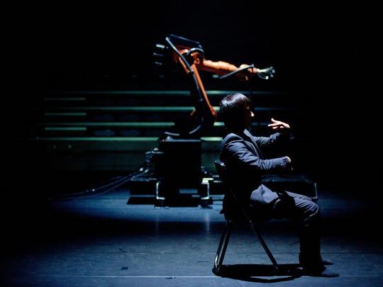 Huang Yi and Kuka combine man and machine into a seamless