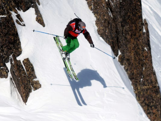 US free rider JT Holmes competes on the