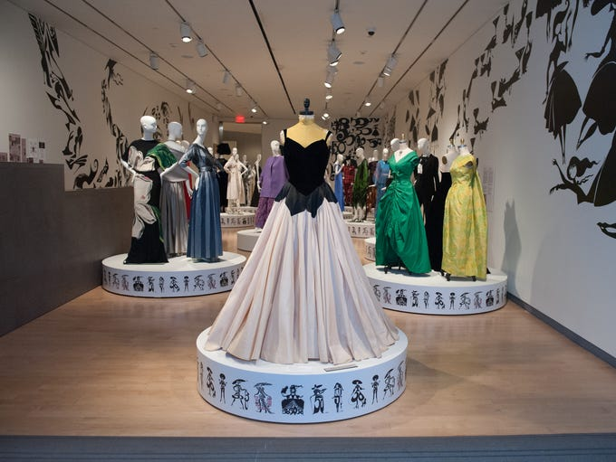 A new exhibit at the Phoenix Art Museum showcases fashion