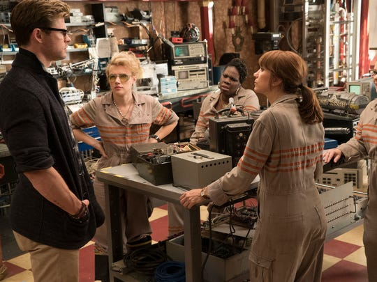The Ghostbusters Holtzmann (Kate McKinnon), Patty (Leslie