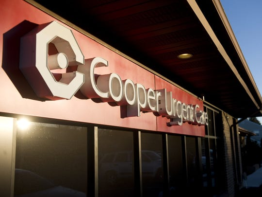 Four staffers at a Cooper Urgent Care Center in Cherry Hill are on self-quarantine after coming in close contact with a patient who tested positive for the novel coronavirus, or COVID-19.