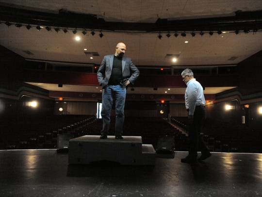 Bay Atlantic Symphony music director Jed Gaylin stands