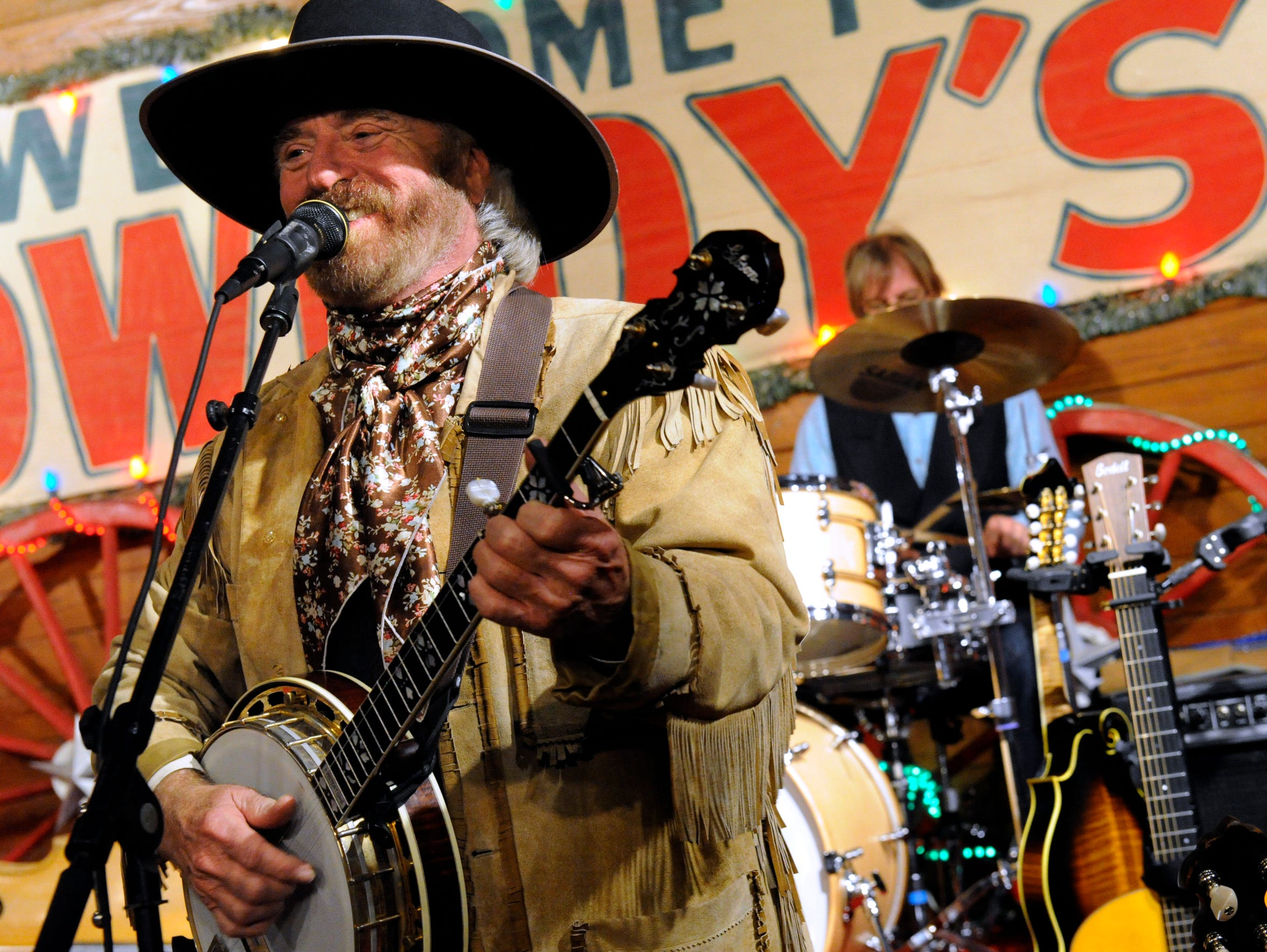 Michael Martin Murphey returns to Pioneer Hall in Anson for the 25th time on Saturday when he plays the Texas Cowboys' Christmas Ball.