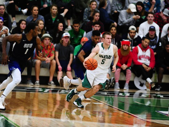 Wagner has been a major contributor since his freshman season at York College. He's shown here as a freshman against Mary Washington.