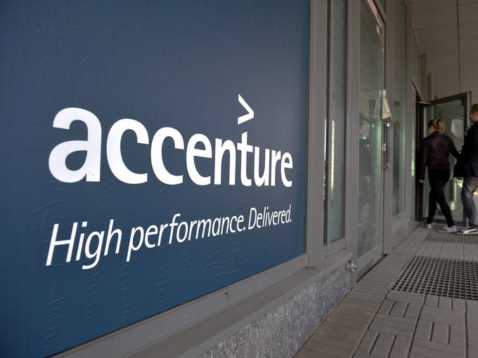 Accenture, hiring 100. The company provides management