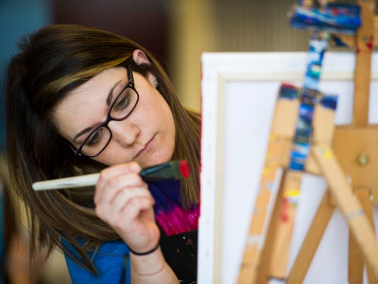 Painting With A Twist At Gallery Night Postponed