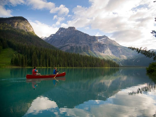 Mount Burgess, located in Yoho National Park in B.C.,