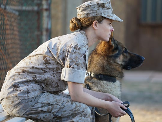 """Kate Mara plays the title character in """"Megan Leavey."""""""