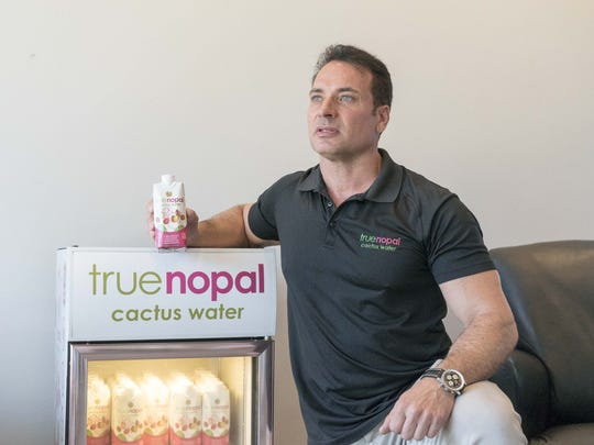 Tom Zummo owns Scottsdale-based True Nopal, which produces and distributes prickly pear cactus water. He started the business in 2013.