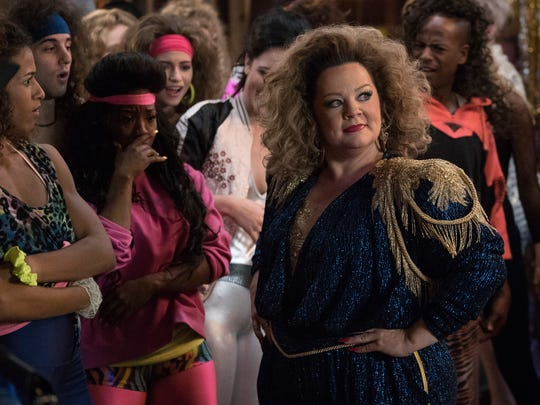 Once re-enrolled in her daughter's university, Deanna (Melissa McCarthy) does what any undergrad would do: She hits up an '80s-themed party at a frat house.