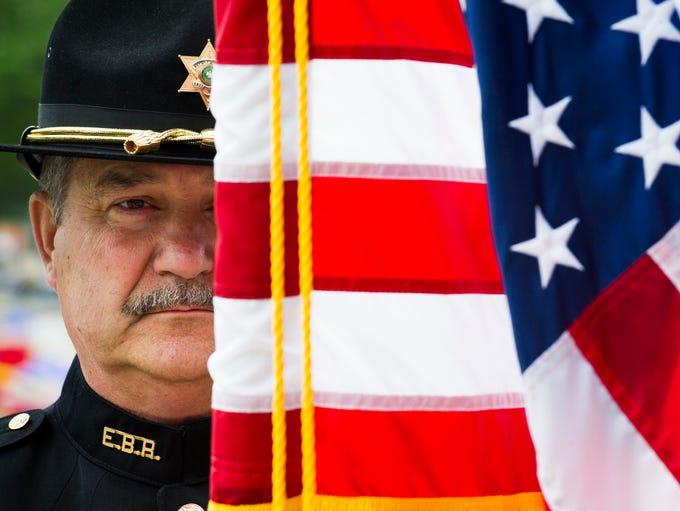 Capt. Randy Aquillard, Baton Rouge, La., Sheriffs Department