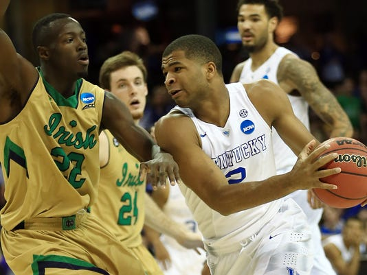 NCAA Basketball: NCAA Tournament-Midwest Regional-Notre Dame vs Kentucky