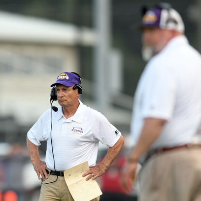 Four decades, 280 wins in, Purvis football coach Perry Wheat, 69, still chasing state title