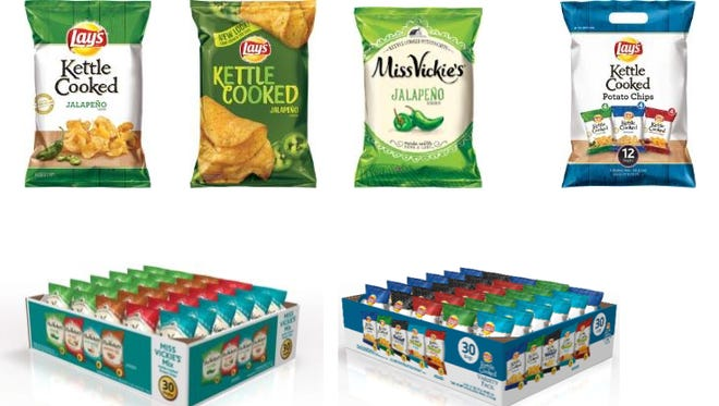 Several Lays products were recalled after concerns of salmonella contamination in jalapeño powder.