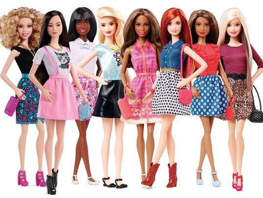 Even Barbies Wearing Flats Now