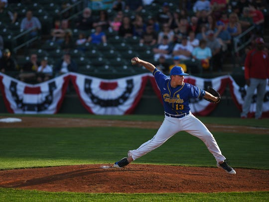 Grady Wood returns to lead the Canaries rotation in 2019