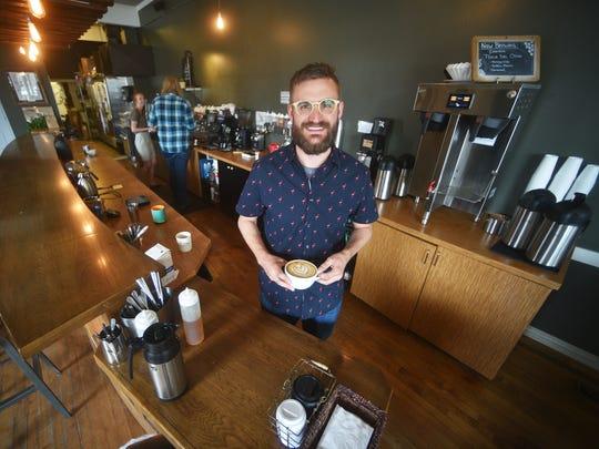 Coffea CEO Bryan Kegley talks about lattes Tuesday,