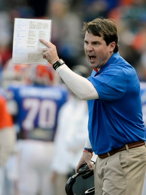 Florida coach Will Muschamp has formed a solid friendship with USC coach Steve Spurrier
