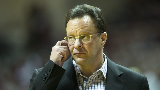 Tom Crean was fired as IU's coach at the start of the 2017 NCAA tournament.