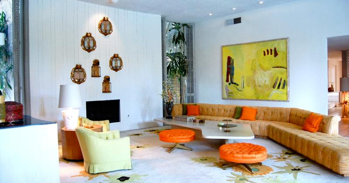 Arthur elrod home in palm springs was experiment in design for 15 x 13 living room