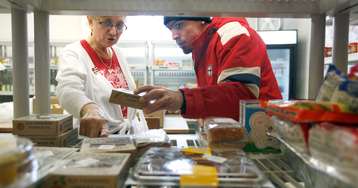 cuts strain local food pantries