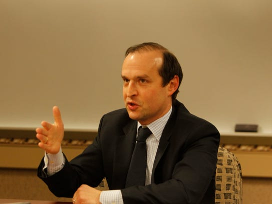 David Reingold, dean of the College of Liberal Arts