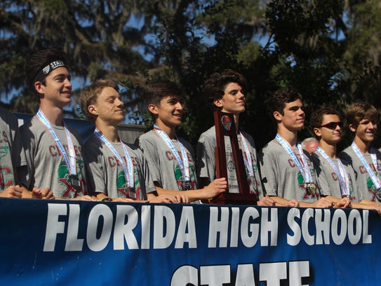 Chiles' boys cross country team took home its third