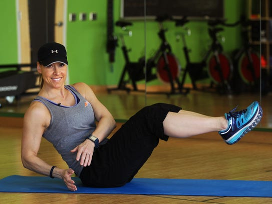 Catherine Andersen, owner and personal trainer of Adventure