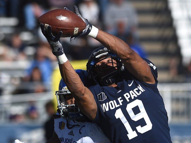 Nevada's Wyatt Demps will get a shot to make the Jacksonville