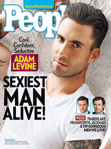 Adam Levine was People mag's 2013 Sexiest Man Alive!