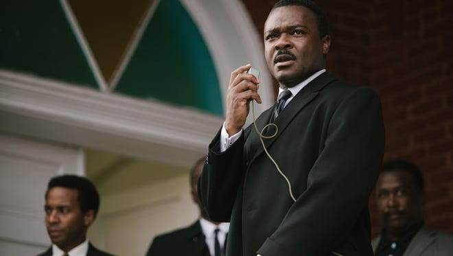 David Oyelowo portrays Martin Luther King. in 'Selma,' a film tracing the Voting Rights Act movement.