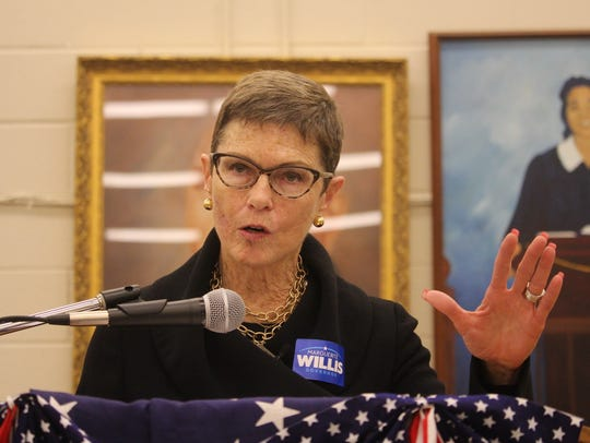 Democratic gubernatorial candidate Marguerite Willis