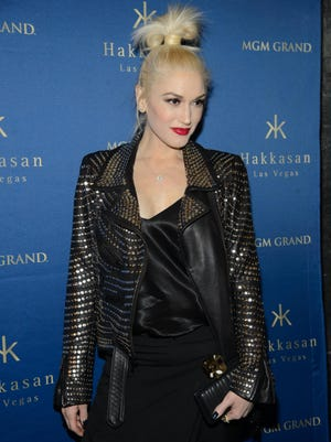 Gwen Stefani, seen here in Las Vegas on Saturday, officially has been announced as a coach for Season 7 of NBC's  'The Voice.'