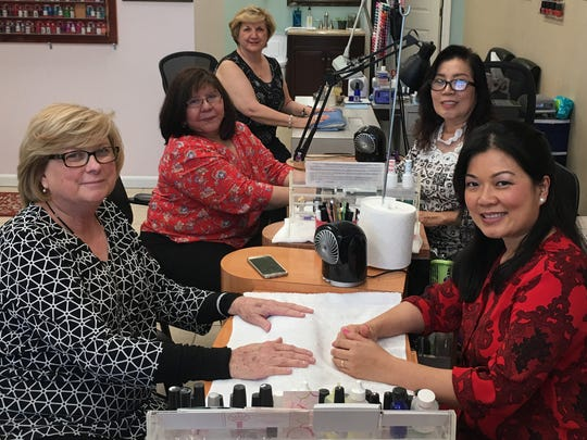 Holly's Nails and Spa salon at 3900 Creighton Road