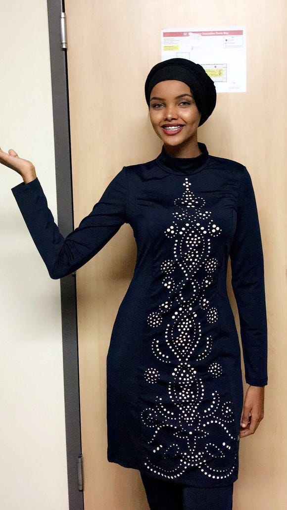 Halima Aden will be the first to compete in the Miss