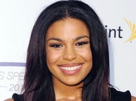 Jordin Sparks arrives at the Sports Spectacular on Sunday May 22, 2011, in Los Angeles.