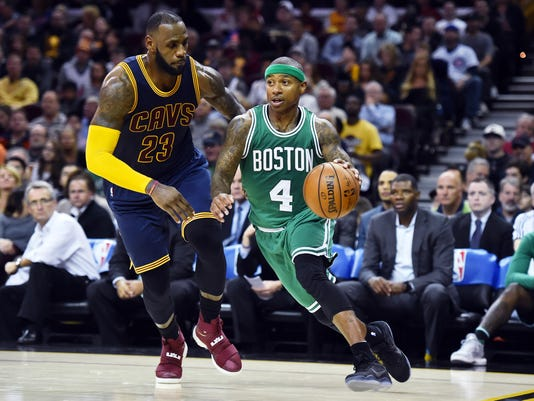 USP NBA: BOSTON CELTICS AT CLEVELAND CAVALIERS S BKN USA OH